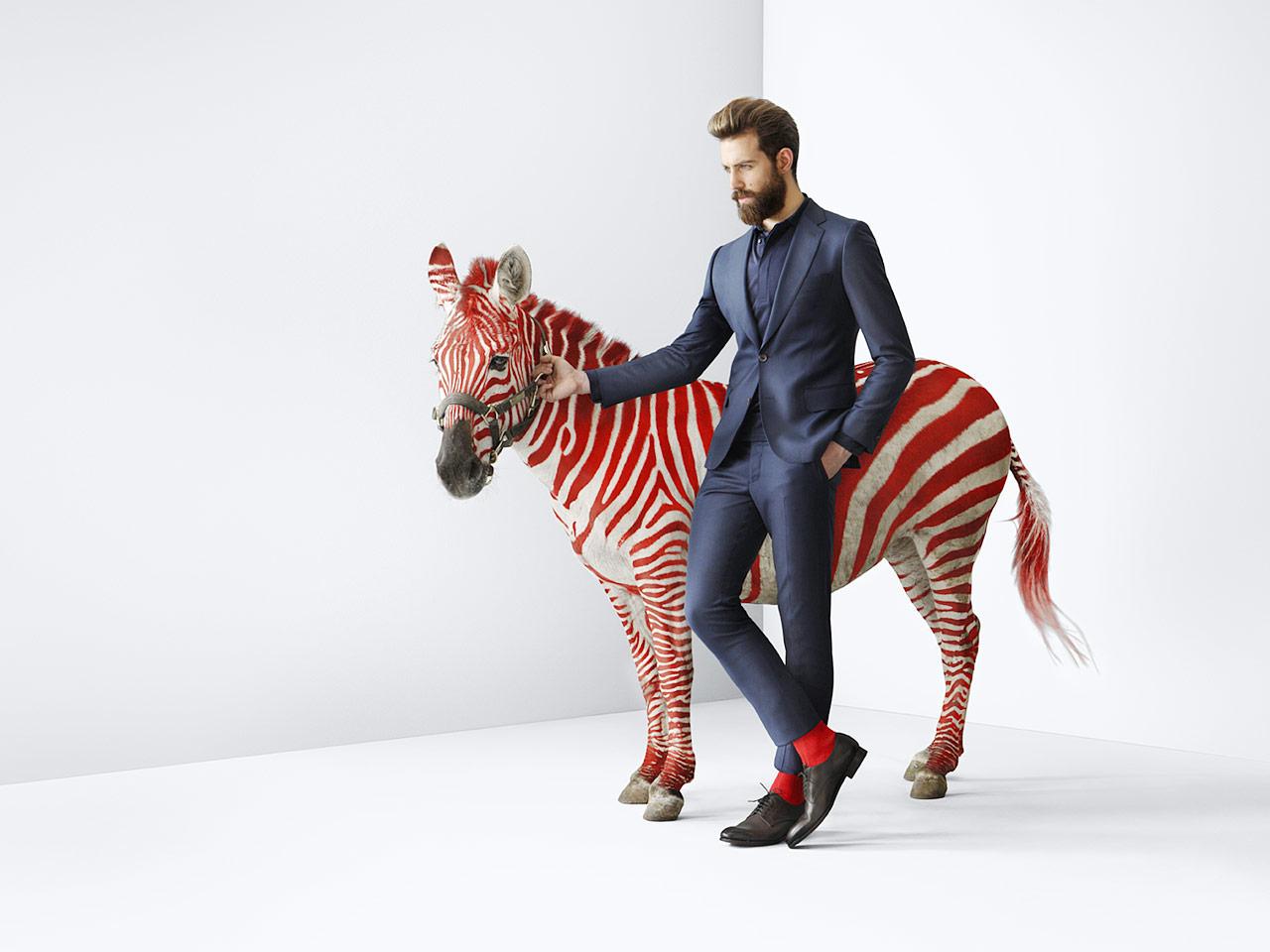 Red Zebra Uomo-0
